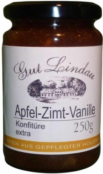 Apfel Konfitüre extra mit Zimt und Vanille 250 g