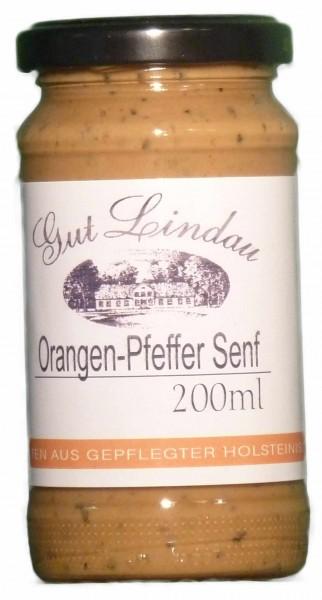 Orangen-Pfeffer-Senf200 ml